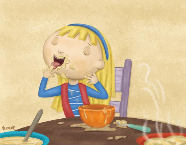 Goldilocks Porridge Related Keywords Goldilocks Porridge